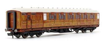 "LNER 61' 6"" Gresley Teak Corridor Composite Brake Coach No.32557"