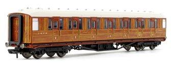 "LNER 61' 6"" Gresley Teak Corridor First Coach No.31885"
