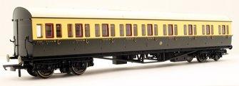 GWR Collett 57' Bow Ended E131 Nine Compartment Composite (Left Hand) 6360