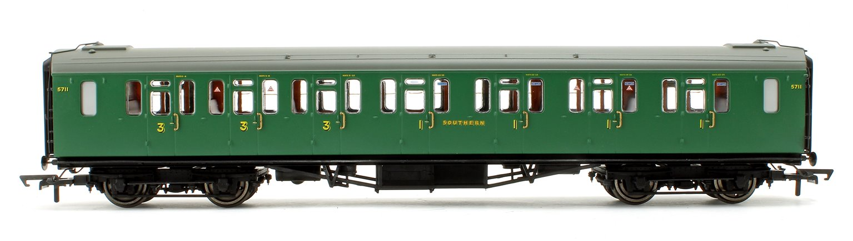 SR 59' Bulleid Suburban Corridor Composite Coach 5711 - Era 3