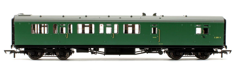 BR 59' Bulleid Corridor Brake Third Coach No.S2851S