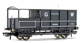 GWR 20 Ton Goods Brake Van 'Toad' Rogerstone '56686'
