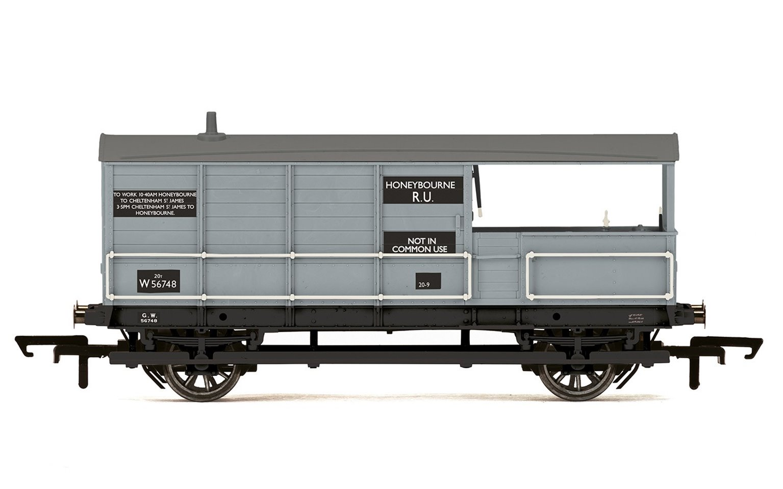 AA15 20T 'Toad' Goods Brake Van, British Railways