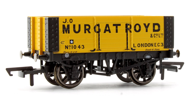 'J.O Murgatroyd' 6 Plank Wagon No. 1043