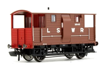 LSWR 20T 'New Van' Goods Brake Van No.9646
