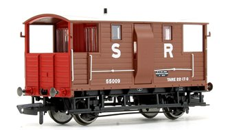 SR (exLSWR) Diag.1543 20T Goods Brake Van No.55009