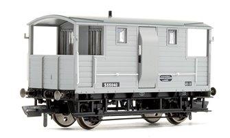 BR (ex LSWR) 20T Diag.1543 Goods Brake Van S55040