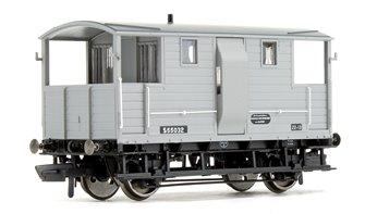 BR (ex LSWR) Diag.1543 Goods Brake Van S55032