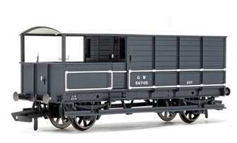 GWR, AA15 20T 'Toad' Goods Brake Van - 56705