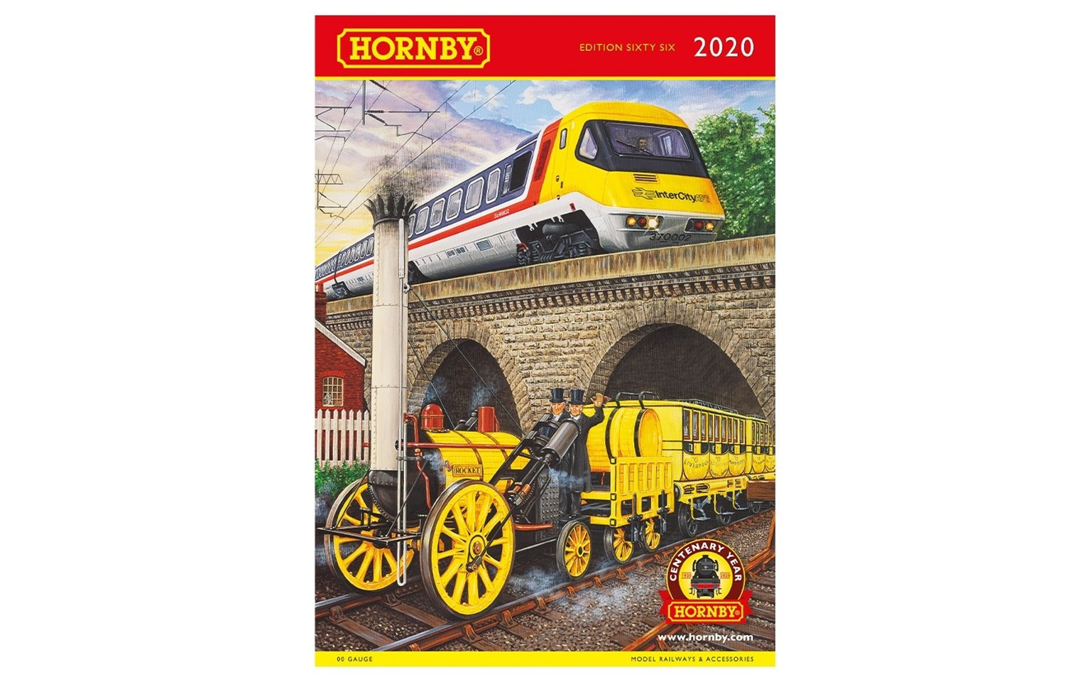 Hornby 2020 66th Edition Catalogue - 100th Anniversary Centenary Edition
