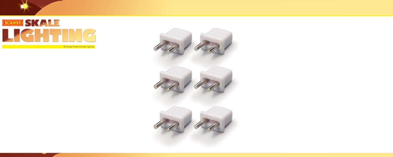 Hornby Skale Lighting - Plugs x6