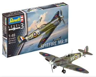 Supermarine Spitfire Mk.II Model Kit