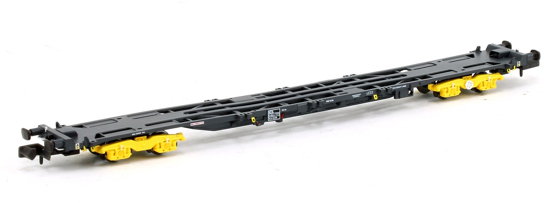 Set of 3 KFA Container Flat Wagons Network Rail GPS Bogies