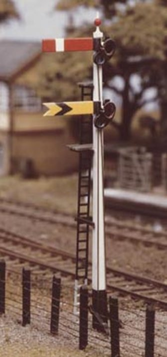 GWR Home & Distant Quick Assembly Signal Kit