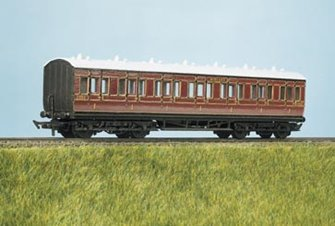 MR Suburban, All 1st, 7 Compartment Coach Kit