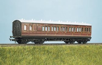 MR Suburban, Brake 3rd, 6 Compartment Coach Kit