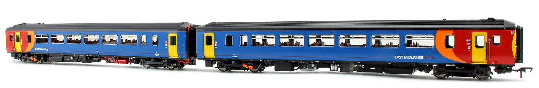 Class 156 473 East Midlands Trains 2 Car DMU Lincoln - Leicester (Via Nottingham)