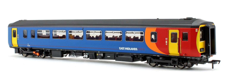 Class 156 406 East Midlands Trains 2 Car DMU Nottingham – Worksop (The Robin Hood Line)