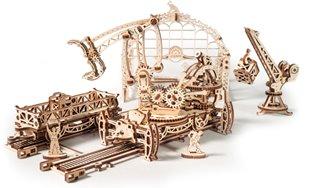 Mechanical model Rail Mounted Manipulator