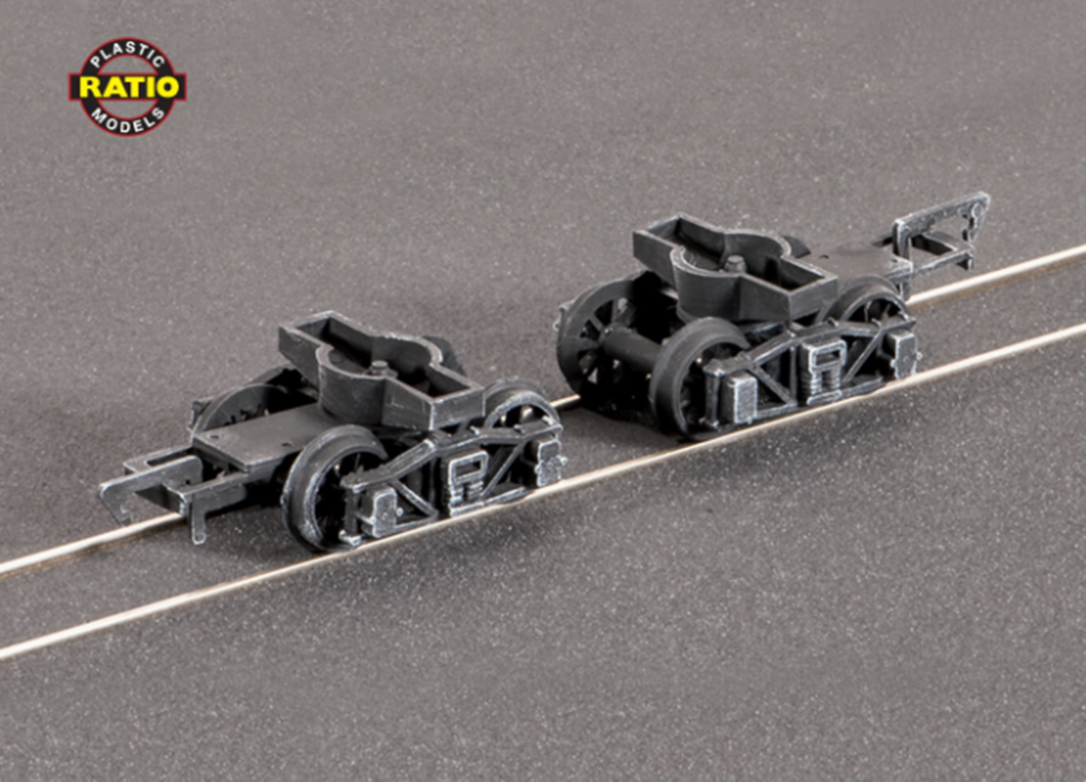Pr. Diamond Frame Bogies (Spoked Wheels)