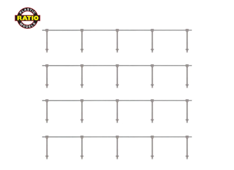 Hand Rail Stanchions - Single Rail