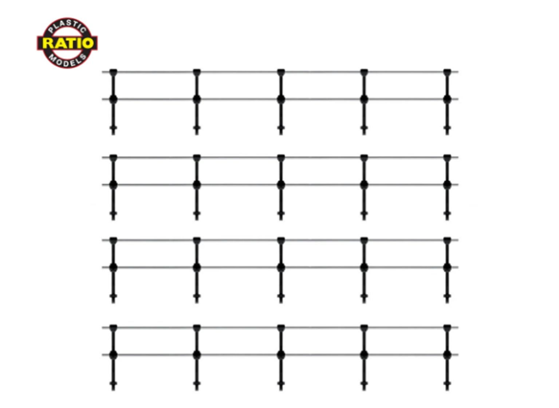 Hand Rail Stanchions - Double Rail