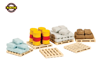 Pallets, Sacks & Barrels