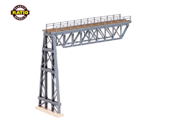 Steel Truss Span, with steel trestle