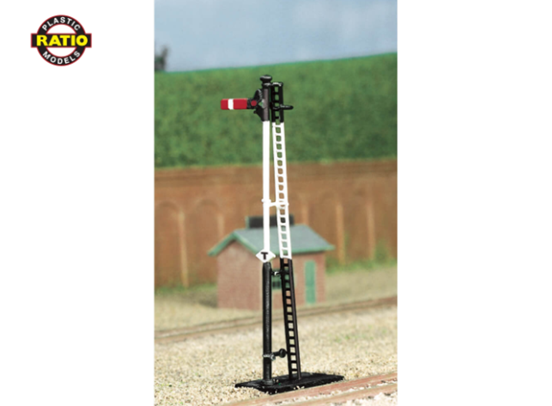 Ratio 270 Home//Distant Upper Quadrant Unpainted Signal Kit N Gauge