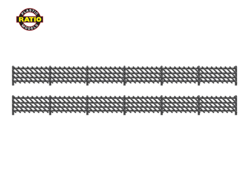 LMS (MR) Station Fencing, black