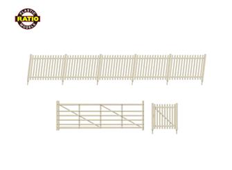 SR Precast Concrete Pale Fencing (gates & ramps)