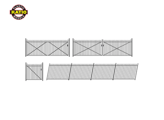 Spear Fencing (gates & ramps)