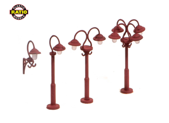 Swan Necked Lamps (9 per pack)