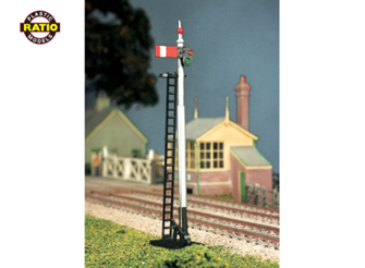 GWR Round Post Advanced Construction Signal Kit
