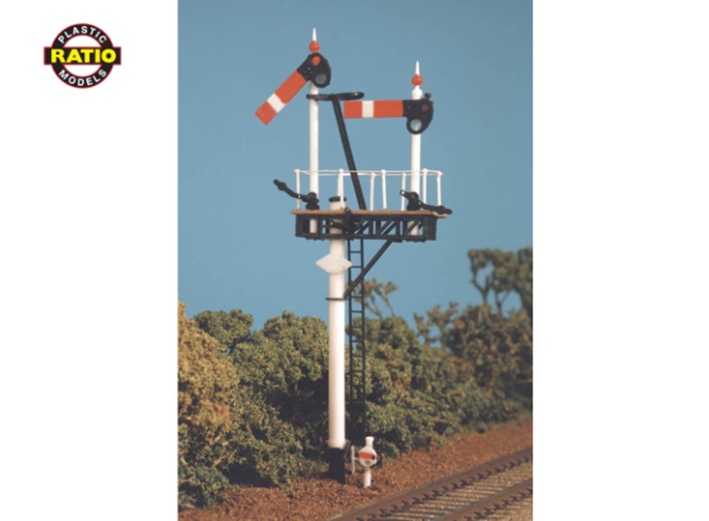 GWR Round Post Advanced Construction Signal Kit