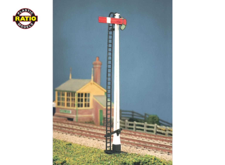 LNWR Square Post Advanced Construction Signal Kit