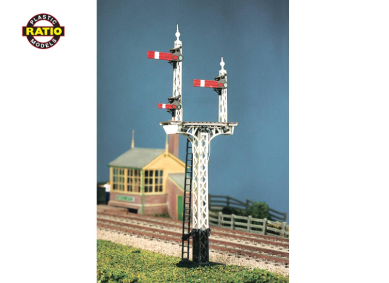 LNER Latticed Post Advanced Construction Signal Kit