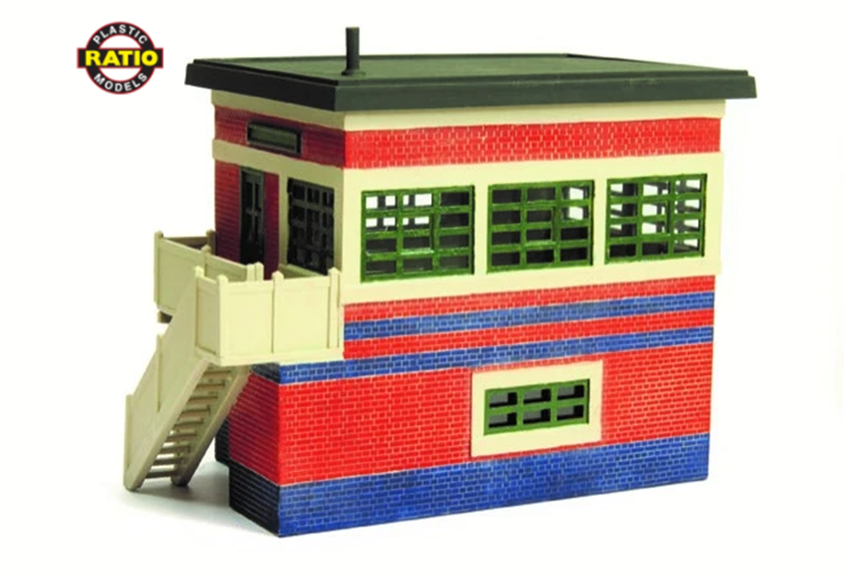 Wartime (ARP) Flat Roof Signal Box