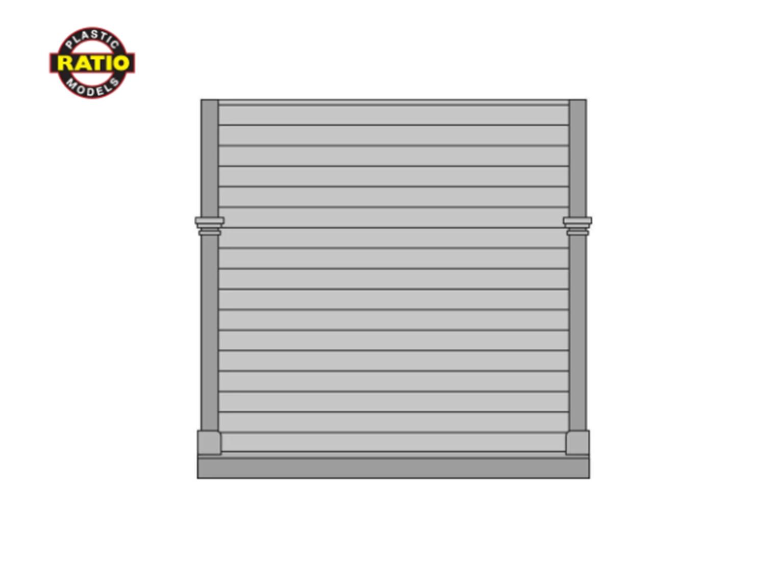 4 x Plain Boarded End Panels