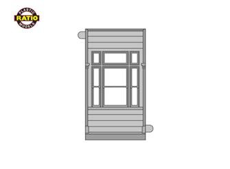 4 x Window Panels