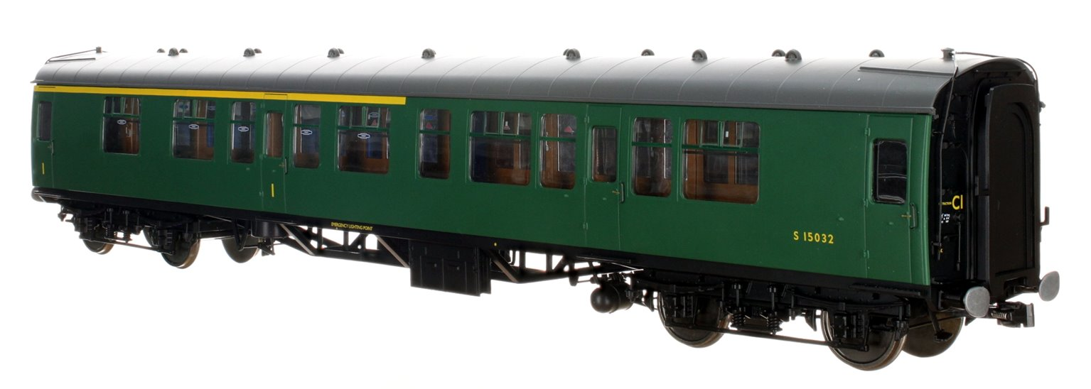 BR SR Green MK1 CK Coach No.S15032 (DCC Fitted)