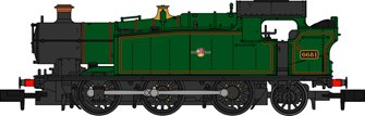Class 56xx BR Lined Green (Small Late Crest) 0-6-2 Tank Locomotive No.6681 (Weathered Edition)