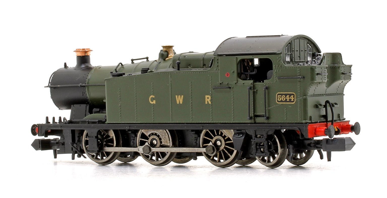 Class 56xx GWR Unlined Green (GWR Block Lettering) 0-6-2 Tank Locomotive No.5644