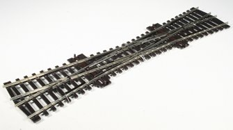 SLE180 Finescale single slip (code 75 rail).