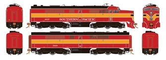 PA-2/PB-2 Set: Southern Pacific Daylight #6037 and #5918