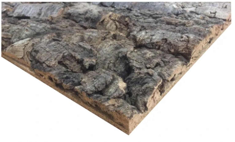 Large Cork Bark - 150 mm x 150 mm