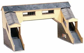 Covered Footbridge - Card Kit