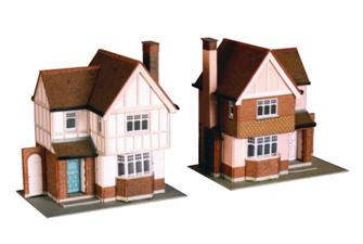 2 Detached Houses - Card Kit