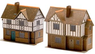 Two Elizabethan Cottages - Card Kit