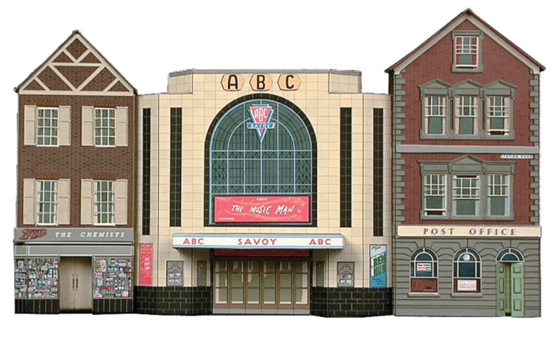 Cinema, Post Office & Shop Building Kit